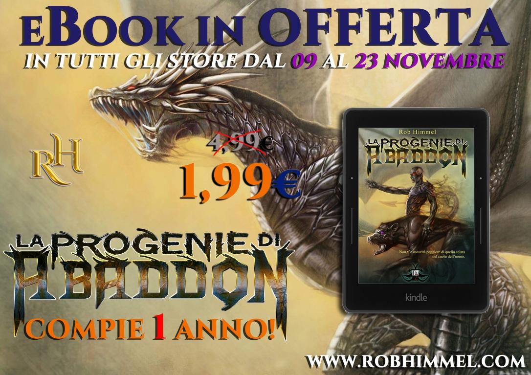 Promo eBooks anniversario Abaddon